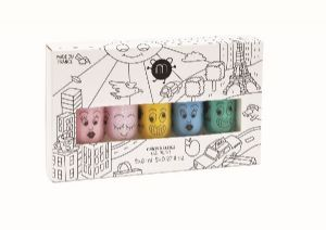 'City' set of 5 - nailmatic® kids - water based nail polish